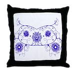 Floral Design Throw Pillow