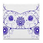 Floral Design Tile Coaster