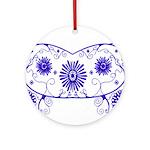 Floral Design Ornament (Round)