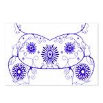 Floral Design Postcards (Package of 8)
