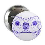 Floral Design Button