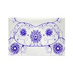 Floral Design Rectangle Magnet (10 pack)