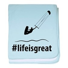 Kitesurfing baby blanket