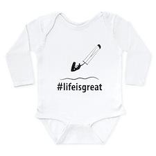Kitesurfing Long Sleeve Infant Bodysuit