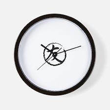 Kanji Symbol Friend Wall Clock