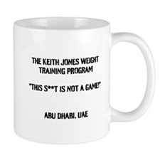The Keith Jones Weight Training Program Mug