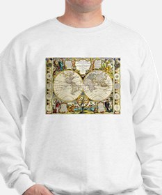 World Map 1755 Sweatshirt