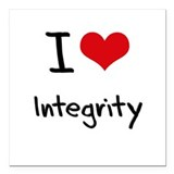 Integrity Square Car Magnets