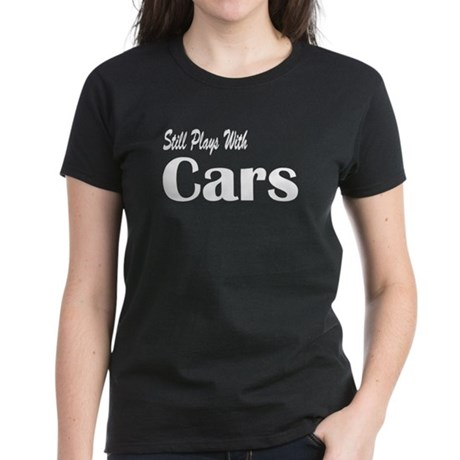 Plays With Cars Women's Dark T-Shirt