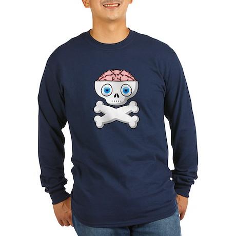 Brain Matter Shirt (Blue LS) M