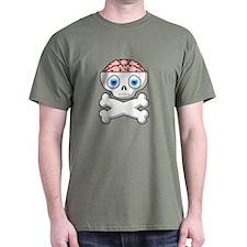 Brain Matter T-Shirt (Army Green)