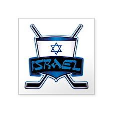 Isreal Ice Hockey Shield Sticker