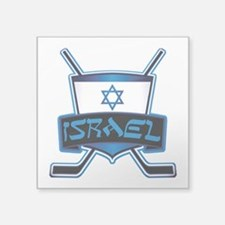 Isreal Ice Hockey Shield Sticker
