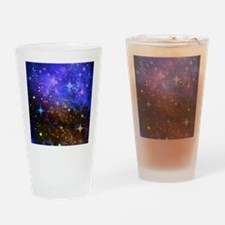 Galaxy Space Scene Graphic Drinking Glass