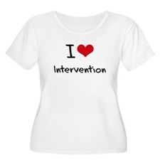I Love Intervention Plus Size T-Shirt