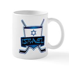 Isreal Ice Hockey Shield Mug