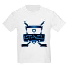 Isreal Ice Hockey Shield T-Shirt