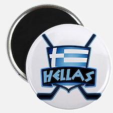 Greece Ice Hockey Shield Hellas Magnet