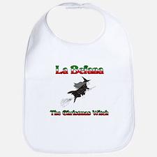 La Befana The Christmas Witch Bib