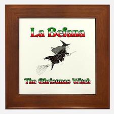 La Befana The Christmas Witch Framed Tile
