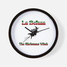 La Befana The Christmas Witch Wall Clock