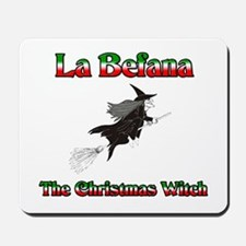 La Befana The Christmas Witch Mousepad