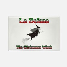 La Befana The Christmas Witch Rectangle Magnet