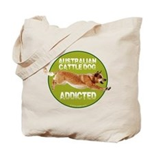 red ACD addicted Tote Bag