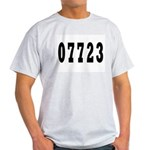 Deal New Jersy 07723 Ash Grey T-Shirt