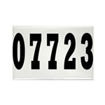 Deal New Jersy 07723 Rectangle Magnet (10 pack)