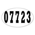 Deal New Jersy 07723 Oval Sticker