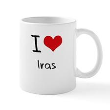 I Love Iras Mug