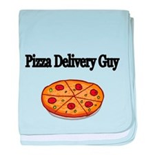 Pizza Delivery Guy baby blanket