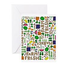 Farmers Market Medley Greeting Cards (Pk of 20)