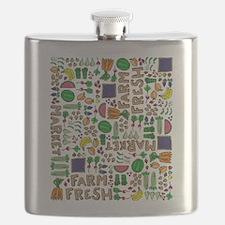 Farmers Market Medley Flask