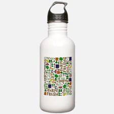 Farmers Market Medley Water Bottle