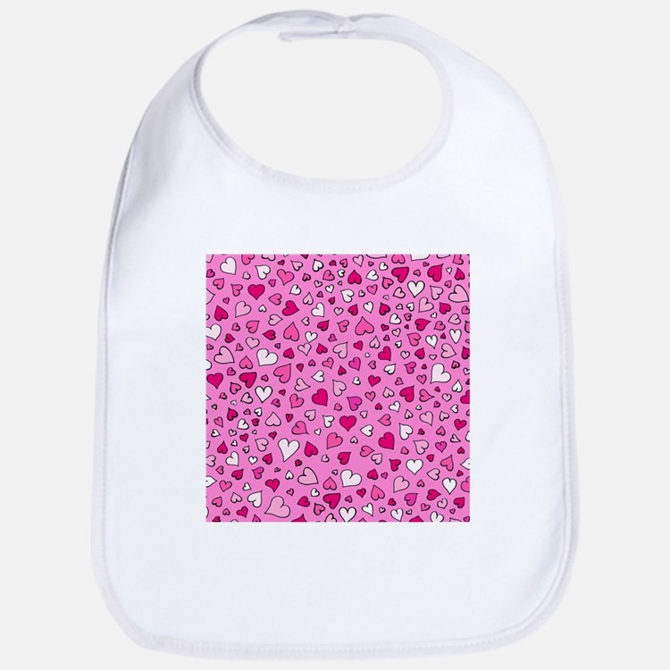 'Scattered Hearts' Bib