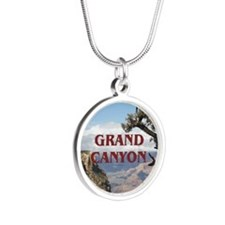 ABH Grand Canyon Silver Round Necklace