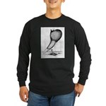 Thuringer Pouter Pigeon Long Sleeve Dark T-Shirt