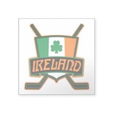 Ireland Irish Ice Hockey Shield Sticker