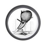 Thuringer Pouter Pigeon Wall Clock
