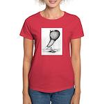 Thuringer Pouter Pigeon Women's Dark T-Shirt