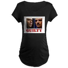 GUILTY Maternity T-Shirt