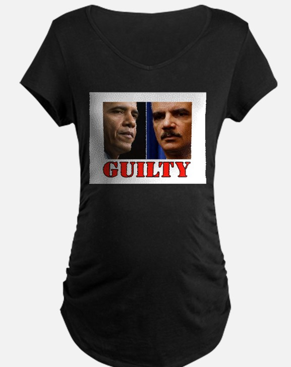 GUILTY Maternity T-Shirt