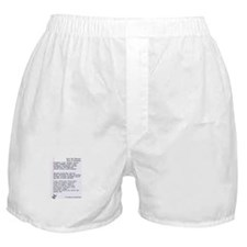 Pharmacy Terms & Calculations Boxer Shorts