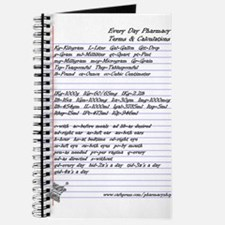 Pharmacy Terms & Calculations Journal