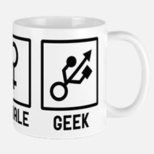 Geek humor Small Mugs