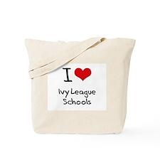 I Love Ivy League Schools Tote Bag