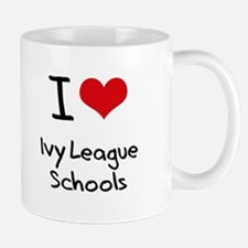 I Love Ivy League Schools Mug