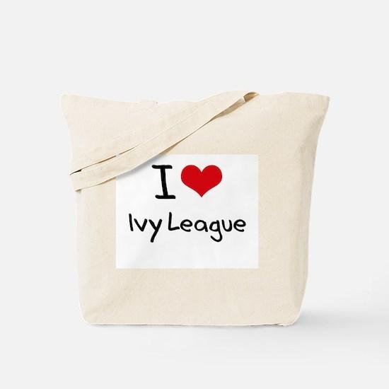 I Love Ivy League Tote Bag